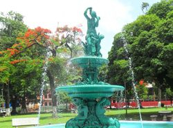 WOODFORD SQUARE FOUNTAIN - 1886