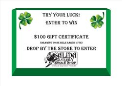 We're giving away $100 Gift Certificate!