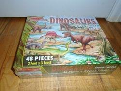 Melissa & Doug Dinosaurs 48 pcs Floor Puzzle- BNIB - $10