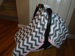 Carseat Canopy Baby Infant Car Seat Cover - $20
