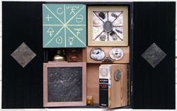 alchemy box with inner compartments
