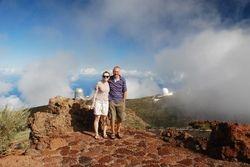 The observatories on La Palma (John and Becky)