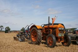A Fordson N and plough