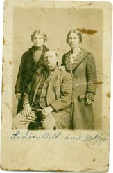 Lydia, William, and Margaret Minerva Winfield who married John Dunn