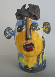 Mary Jones Ceramics.  There is a reason for everything.  SOLD