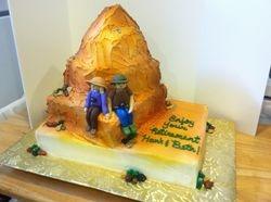 Colorado Sunset Retirement Cake