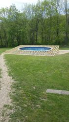 Above Ground Pool Frame 2