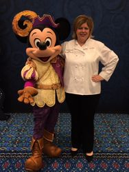 Chef Susan & Micky Mouse
