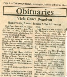 Donelson, Viola Grace Brindle 1997