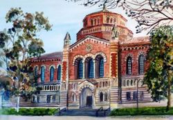 Powell Library, UCLA, Los Angeles