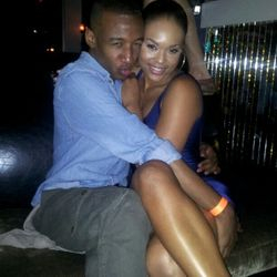 Victor & Demetria McKinney On A Night Out