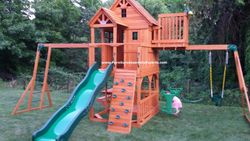 skyfort 2 swing set assembly service in baltimore MD