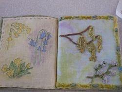 Gwenda's fabric book