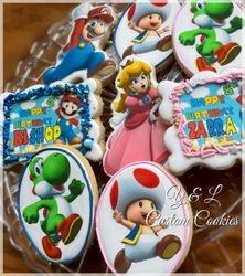 Mario & Princess Peach