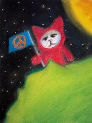 Peace Cat