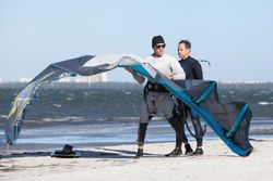 Kite set up