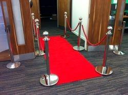 Red Carpet Entrance At Peterborough University