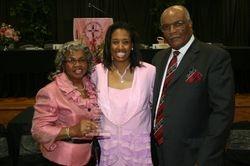 Honoree Juanita and husband Clark White