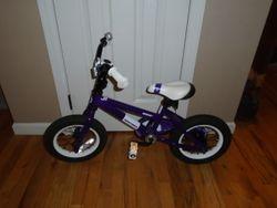 "Novara Danza 12"" Girls' Bike - $75"