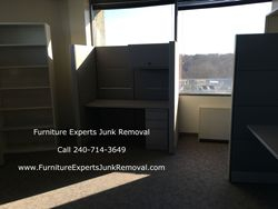 Junk office furniture removal in Springfield VA