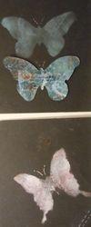 Stencilled Butterflies