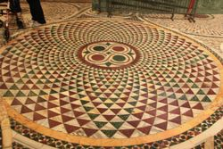 Floor mosaic at St. Mark's Basilica