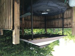 Birch hot tub