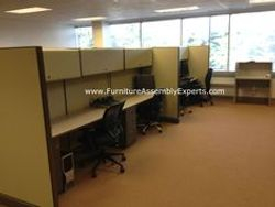 used cubicle assembly service in waldorf MD