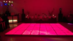 13 BY 13 LED DANCE FLOOR WITH SMALL SYSTEM