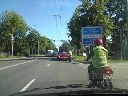 A kategorijas 125cc motocikls