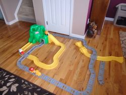 Little Tikes Big Adventures Construction Peak Rail And Road - $30