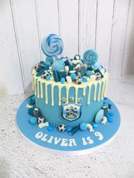 HTAFC Drip Cake