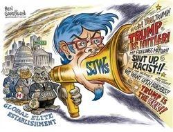 Deep State DNC Anti-Trump GOP NWO Globalist