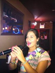 Sheila Marie graced us with several songs at 502 Bar Lounge's Social Saturday Karaoke Night! Sheila (pronounced Chayla - lol) has an AMAZING voice!!