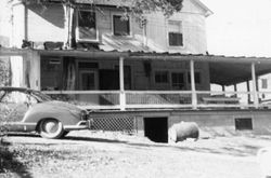 James Harvey and Flora Mae (Snare) Grove Home - 1964