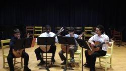 NMS Guitar Quartet, New Haven, CT, December 2011.