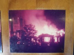The fire that destroyed Dungeness