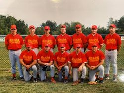 1999 National's Modified Team