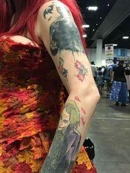 Autumn Ivy Left Arm