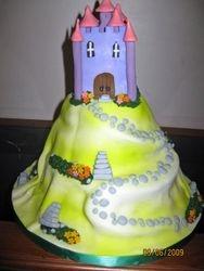 CAKE 6A2- Castle Cake