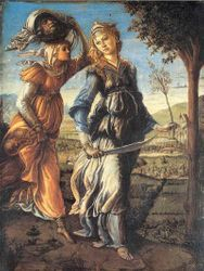 Botticelli, Judith and the Head of Holofernes