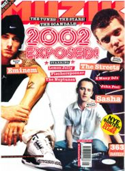 Interned at Muzik magazine (Dec 2002)