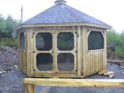 Custom Enclosed Gazebo