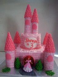 Castle cake 4 (B053)