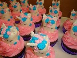 marshmallow unicorn cupcakes $6 rsvh