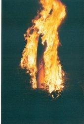 Bonfire 12/31/2001