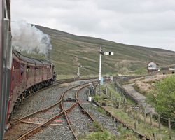 Climbing from Ribblehead