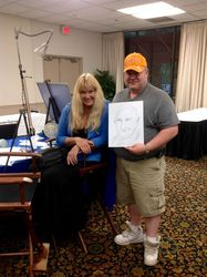 Dale and the Amazing Diane the Portrait Psychic