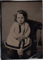 One sixth plate tintype
