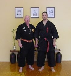 Kyoshi Joe Manfield at Kyoshi Morales Dojo 2007
